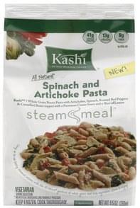 Kashi Spinach and Artichoke Pasta