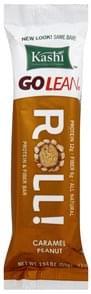 Kashi Protein & Fiber Bar Roll, Caramel Peanut