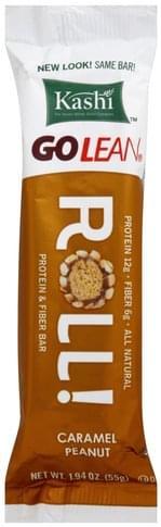 Kashi Roll, Caramel Peanut Protein & Fiber Bar - 1.94 oz