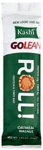 Kashi Protein & Fiber Bar Roll, Oatmeal Walnut