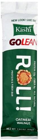 Kashi Roll, Oatmeal Walnut Protein & Fiber Bar - 1.94 oz