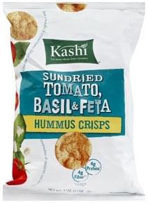 Kashi Hummus Crisps Sundried Tomato, Basil & Feta