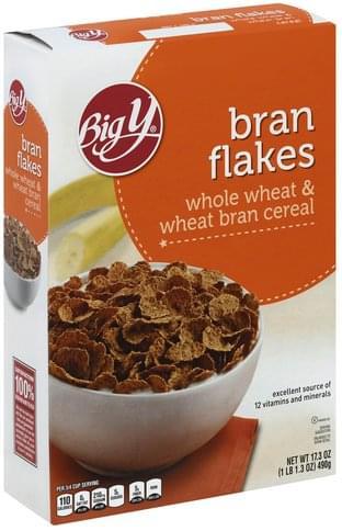 Big Y Bran Flakes - 17.3 oz