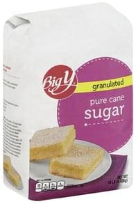 Big Y Sugar Pure Cane, Granulated