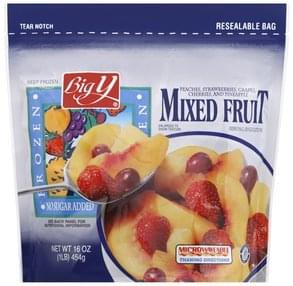 Big Y Mixed Fruit Frozen
