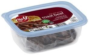 Big Y Roast Beef Thin, Deli Sliced