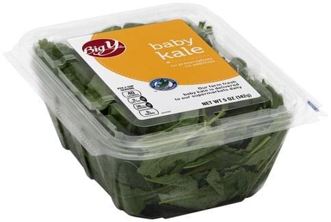 Big Y Baby Kale - 5 oz