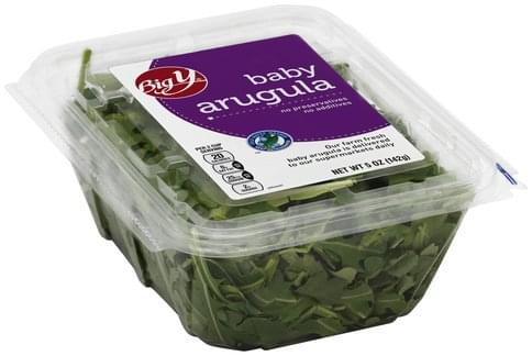 Big Y Baby Arugula - 5 oz