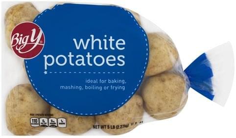 Big Y White Potatoes - 5 lb