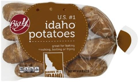 Big Y Idaho Potatoes - 5 lb