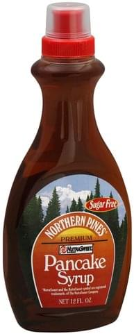 Northern Pines Sugar Free Pancake Syrup - 12 oz