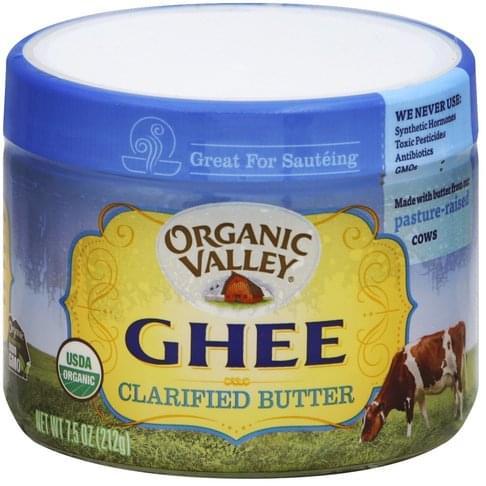 Organic Valley Organic Ghee - 7.5 oz