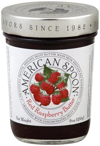 American Spoon Red Raspberry Butter - 9 oz