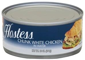 Hostess Chicken Chunk White
