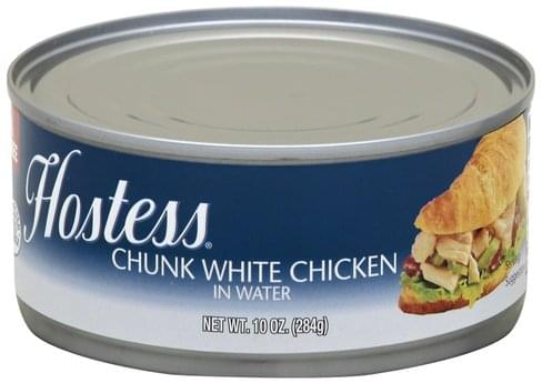 Hostess Chunk White Chicken - 10 oz