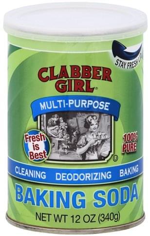 Clabber Girl Multi-Purpose Baking Soda - 12 oz