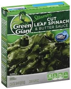 Green Giant Spinach Cut Leaf, & Butter Sauce