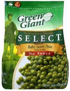 Green Giant Baby Sweet Peas Tender & Mild, No Sauce