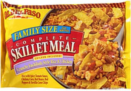 Old El Paso Complete Skillet Meal Crunchy Enchilada Style Rice & Chicken