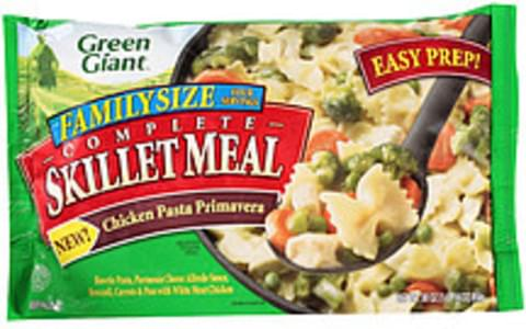 Green Giant Skillet Meal Family Size Complete Skillet Meal Chicken Primavera Pasta