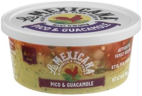 La Mexicana Mild Pico & Guacamole - 10 oz