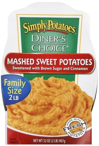 Simply Potatoes Family Size Mashed Sweet Potatoes - 32 oz