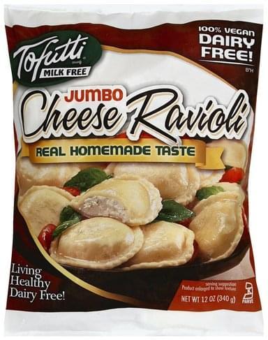 Tofutti Cheese, Jumbo Ravioli - 12 oz