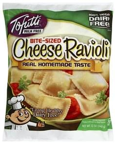 Tofutti Ravioli Cheese, Bite-Sized