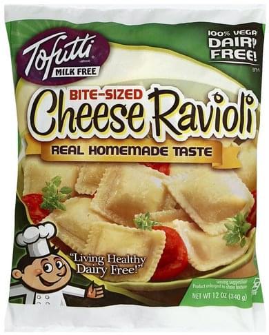 Tofutti Cheese, Bite-Sized Ravioli - 12 oz