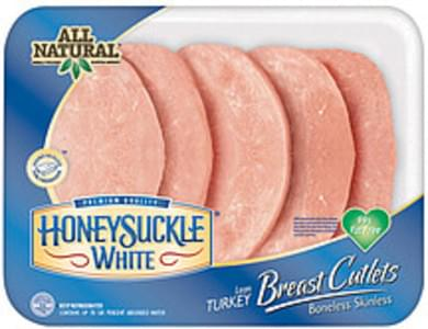 Honeysuckle White Lean Turkey Breast Cutlets 99% Fat Free