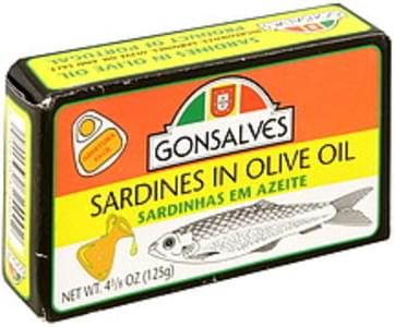 Gonsalves Sardines in Olive Oil