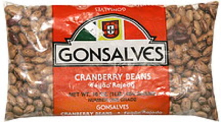 Gonsalves Cranberry Beans - 16 oz