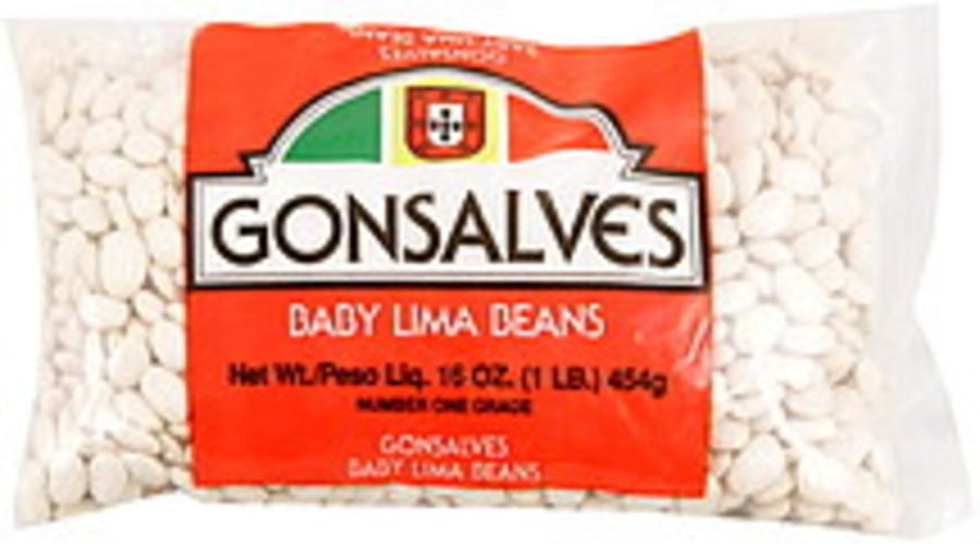 Gonsalves Baby Lima Beans - 16 oz