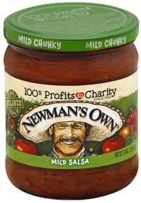 Newmans Own Salsa Chunky, Mild