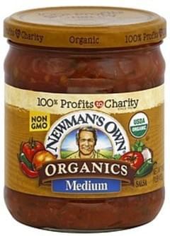 Newmans Own Organics Salsa Medium