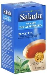 Salada Black Tea Naturally Decaffeinated