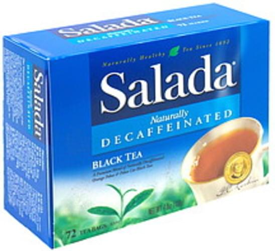 Salada Decaffeinated Black Tea - 72 ea