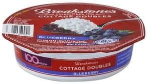 Breakstones Cottage Cheese 2% Milkfat, Lowfat, Blueberry Topping