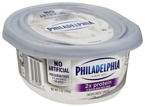 Philadelphia Cream Cheese Spread 2X Protein