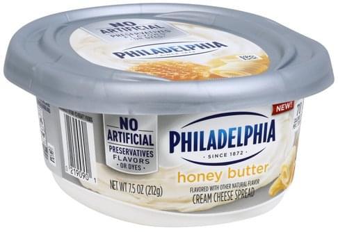 Philadelphia Cream Cheese, Honey Butter