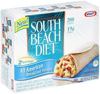 South Beach Diet Breakfast Wraps All American