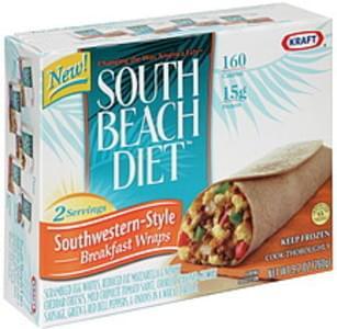 South Beach Diet Breakfast Wraps Southwestern Style