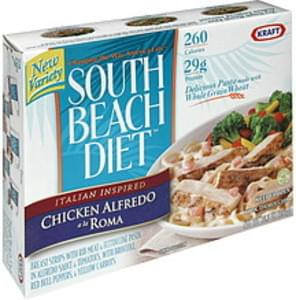South Beach Diet Chicken Alfredo a la Roma