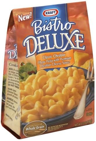 Kraft Elbow Pasta and Cheddar Cheese Sauce Elbow Pasta with Cheddar Cheese Sauce - 10 oz
