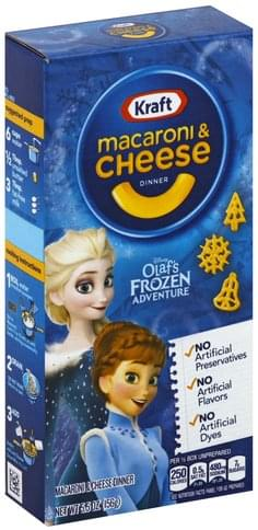 Kraft Disney Olaf�s Frozen Adventure Macaroni & Cheese Dinner - 5.5 oz