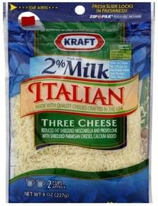 Kraft Cheese Italian, Three Cheese