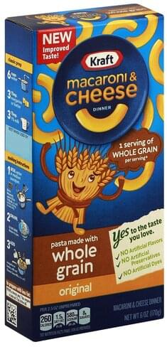 Kraft Original Macaroni & Cheese Dinner - 6 oz