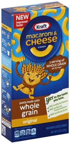 Kraft Original Macaroni & Cheese Dinner - 6 oz