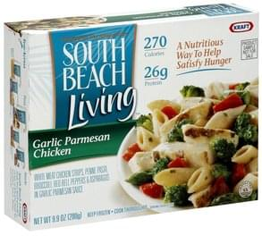 South Beach Living Garlic Parmesan Chicken
