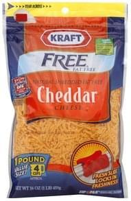 Kraft Shredded Cheese Cheddar